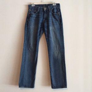 Lucky 221 Straight Leg Medium Wash Denim Jeans